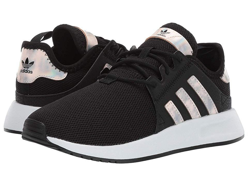 san francisco af7c1 f499d adidas Originals Kids X PLR C (Little Kid) Girls Shoes Black White
