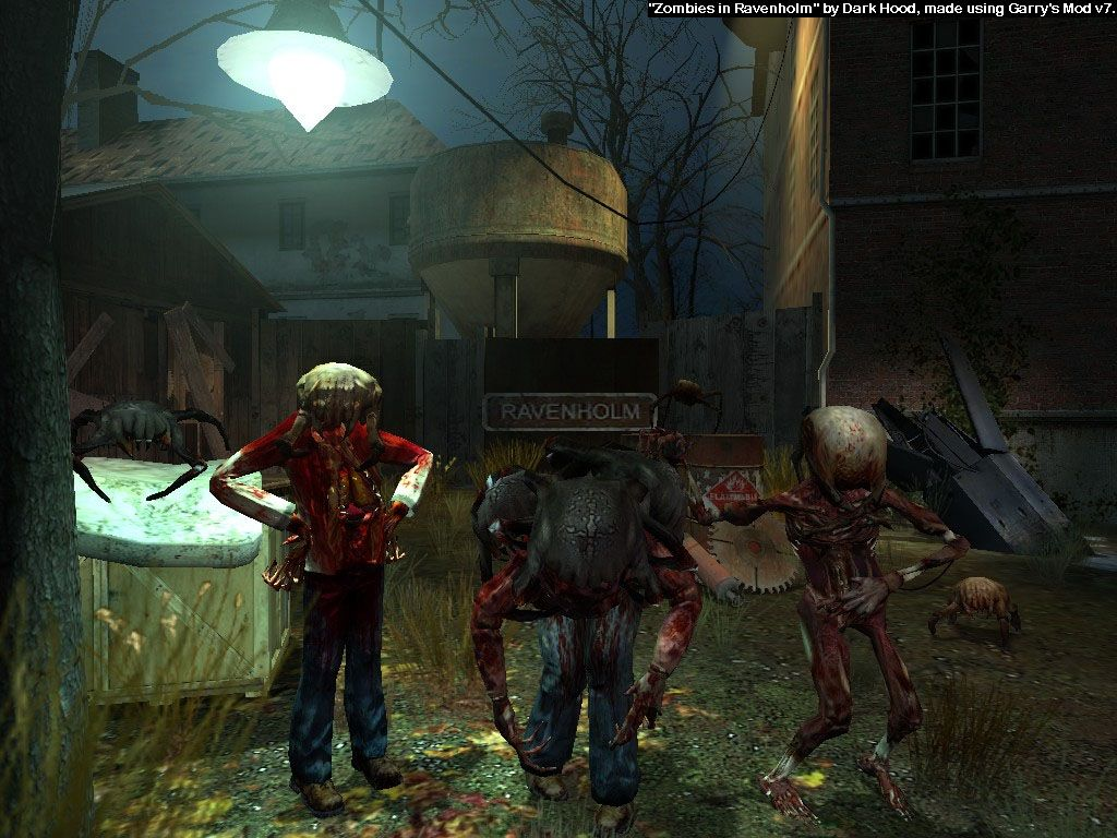 HL2: Zombies in Ravenholm by darkhoodness deviantart com on