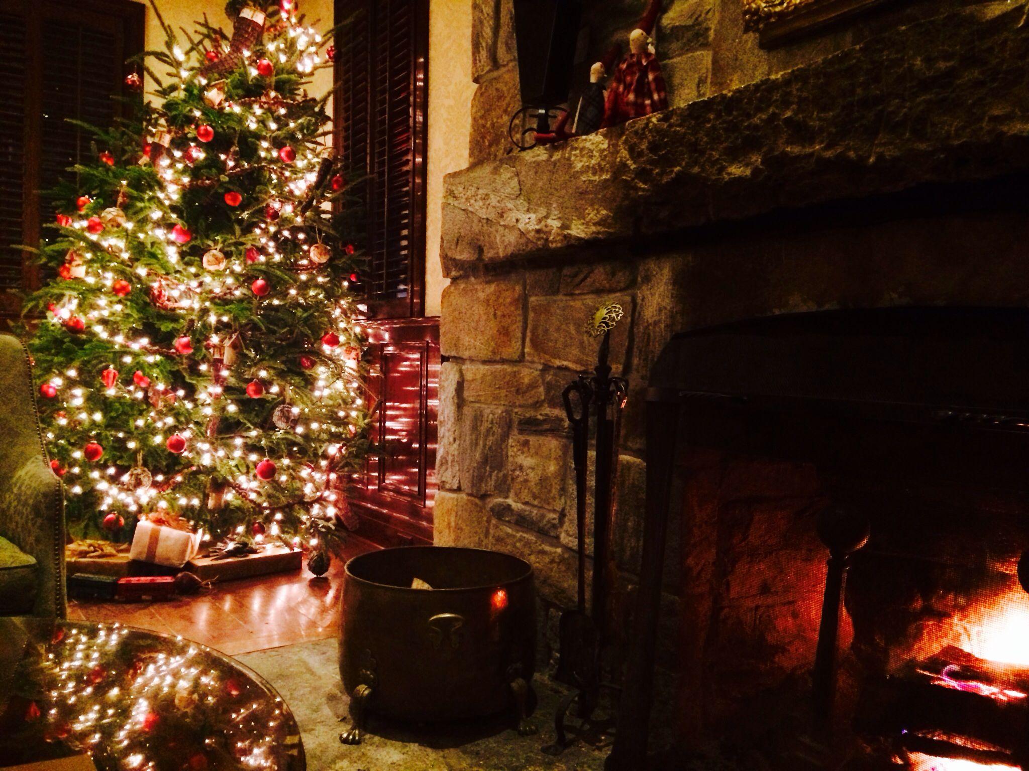Christmas 2013 Lobby At Old Edwards Inn Highlands Nc Winter