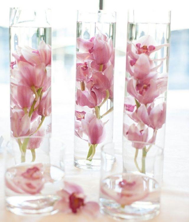 einmachglas blumen im glas frühling rosa blüten arrangements, Garten ideen