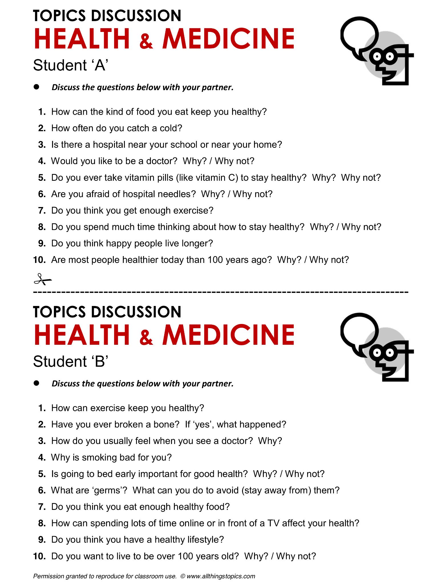 Health And Medicine English Learning English Vocabulary