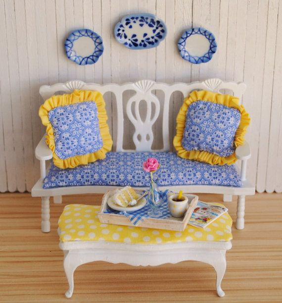 Another darling cottage vignette for sale from one of my favorite Etsy shops, LittleThingsByAnna.