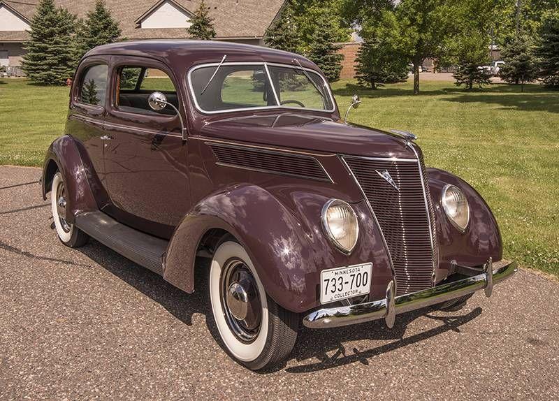 1937 Ford Model 78 Humpback Sedan For Sale Hemmings Motor News Sedan Ford Motor Company Ford Models