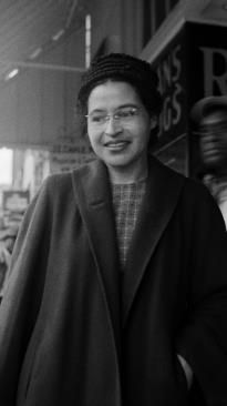 Rosa Parks Famous For Refusing To Sit In The Back Of The Bus In