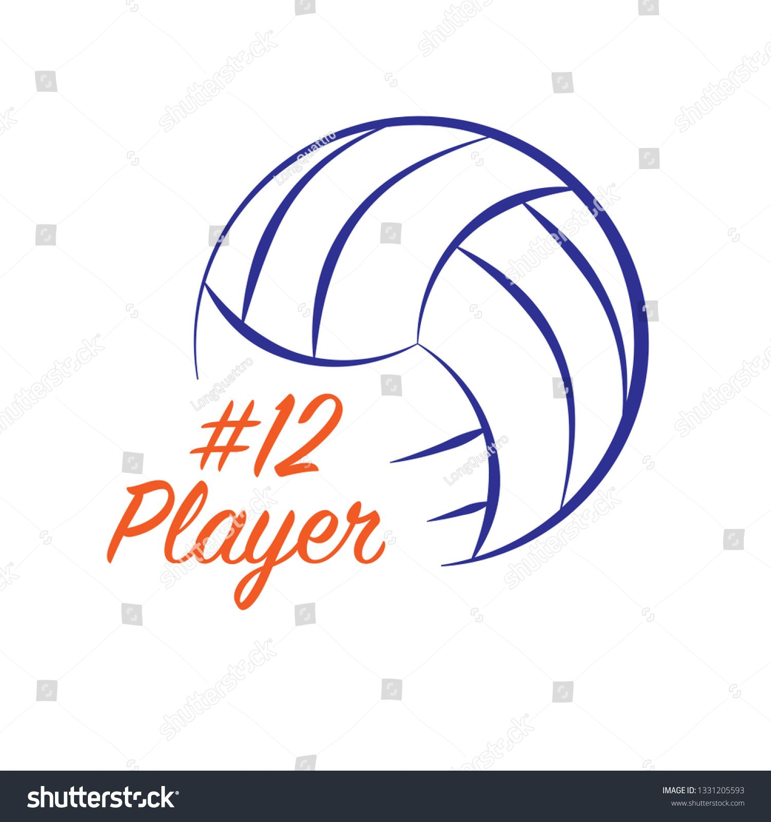 Outline Volleyball Silhouette With Orange Player Name Snd Number Ad Spon Silhouette Volleyball Outline Orange Volleyball Silhouette Outline Silhouette