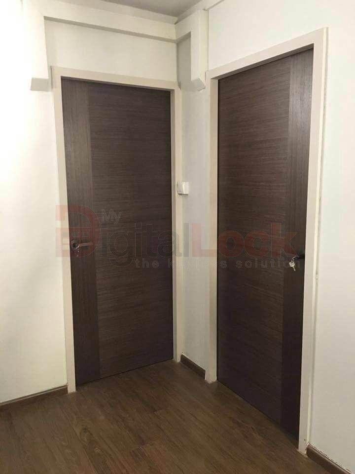 UV Veneer Solid Bedroom Door ( Sound Resistance) & UV Veneer Solid Bedroom Door ( Sound Resistance) | My Digita Lock ... pezcame.com