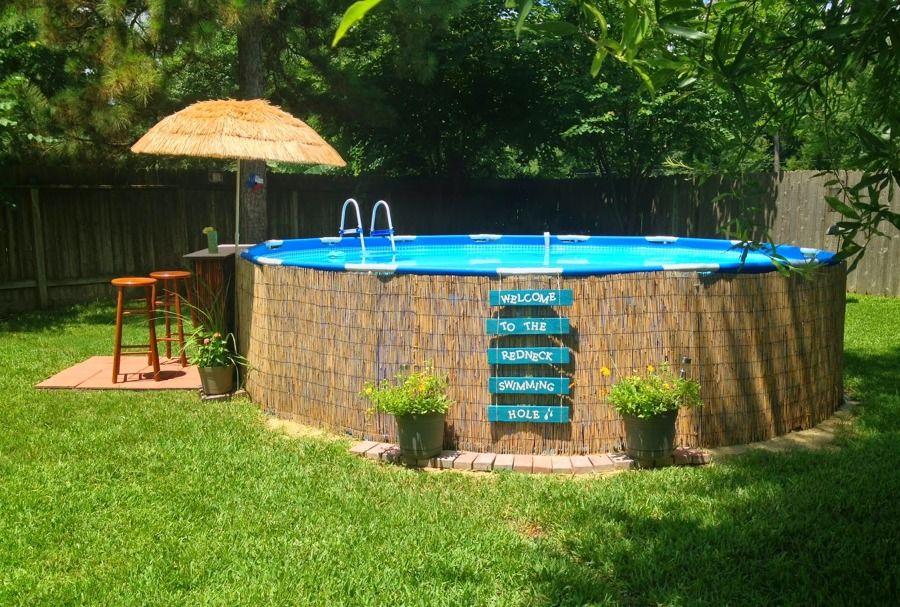 Piscina desmontable porchs patios gardens pinterest for Piscinas jardin baratas