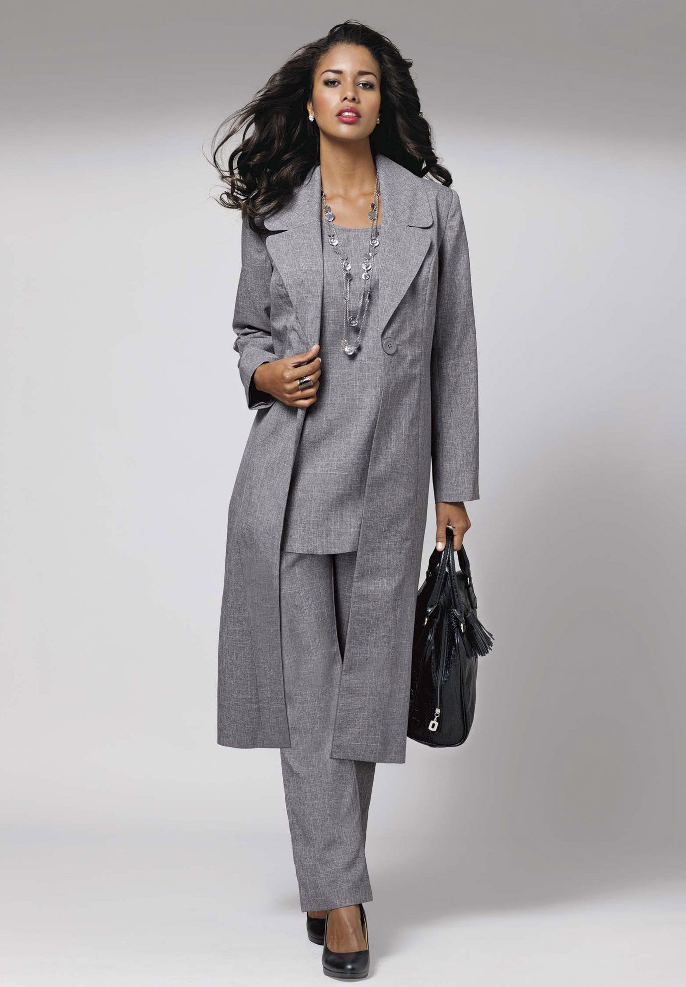 Plus Size Clothing: Suits and Jacket Dresses for Women ...