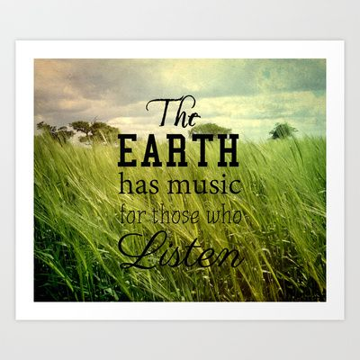 The+Earth+Has+Music+Art+Print+by+Ally+Coxon+-+%2420.00