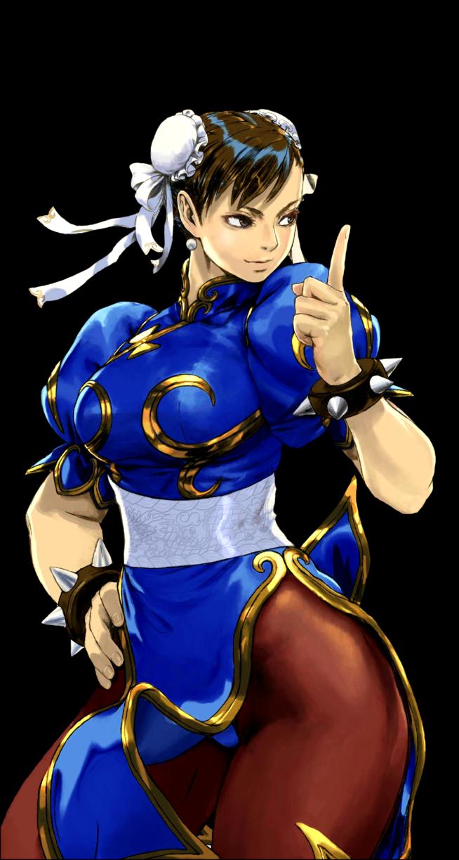Chun Li Transparent By Renofswagzareth Chun Li Fighter Girl Capcom