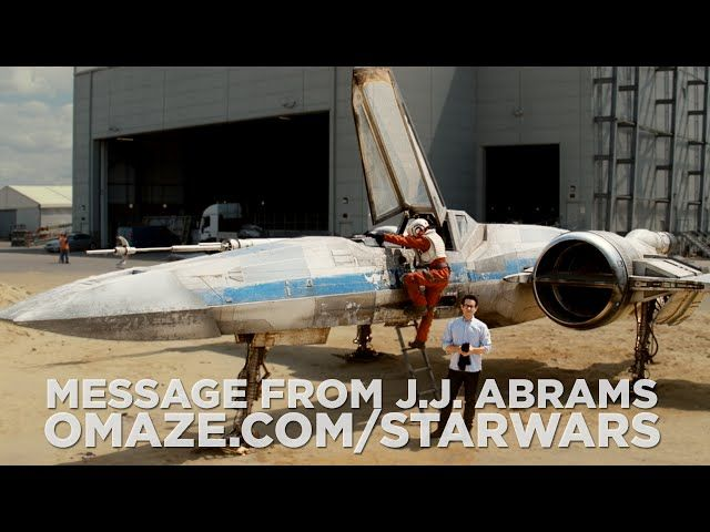 J.J. Abrams Reveals Star Wars: Episode VII's Brand New X-Wing
