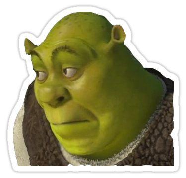 Shrek Sticker By Rainylainy Con Imagenes Pegatinas