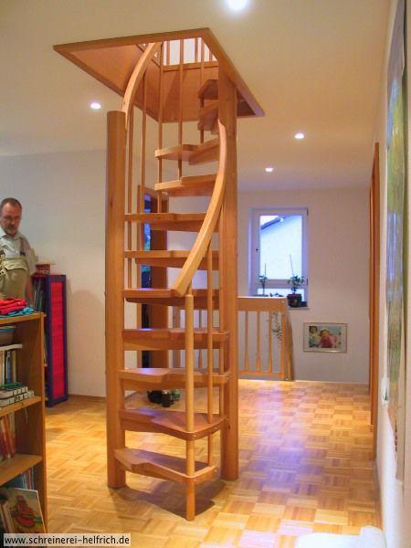 Schreinerei Helfrich in Glattbach bei Aschaffenburg Haushalt - diseo de escaleras interiores