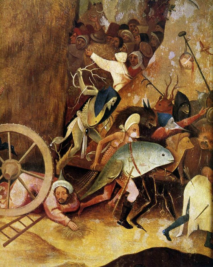 Hieronymus Bosch, Detail from The Haywain Triptych, ca. 1516