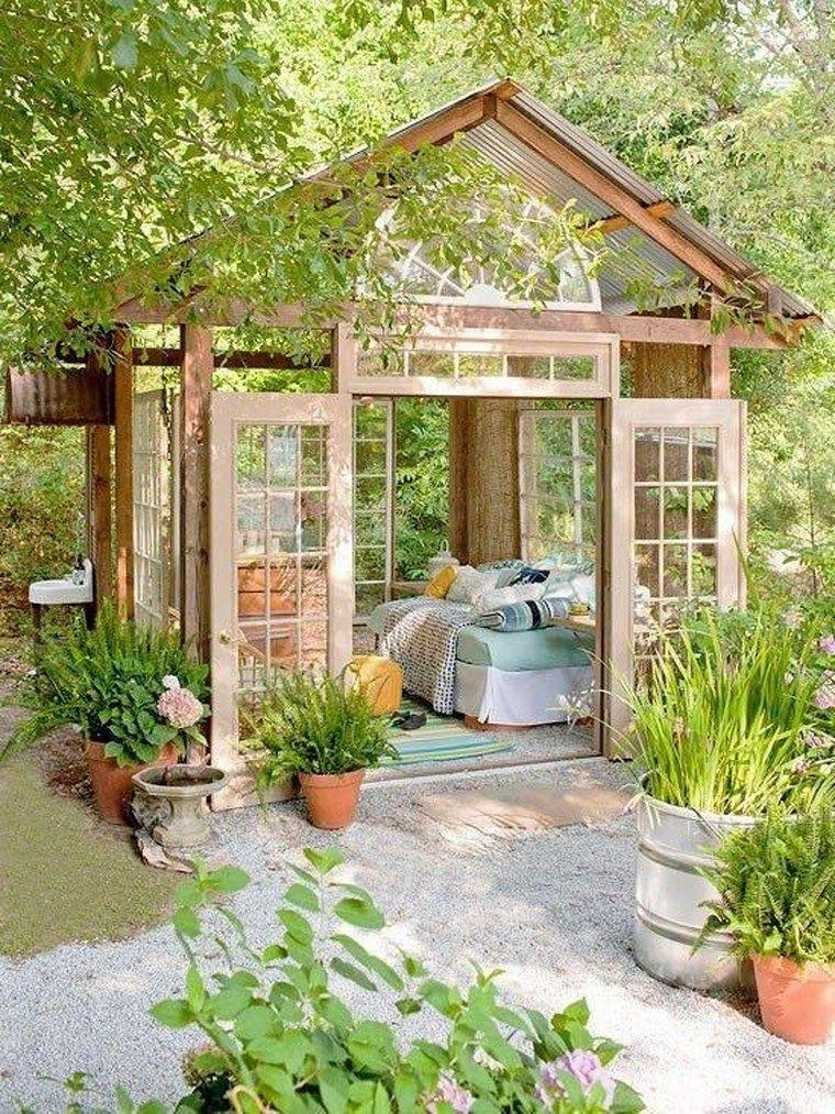 Sehr Schone Holzhutten Fur Den Garten Neu Beste Garten Pavillon Gartenhaus Garten Gestalten