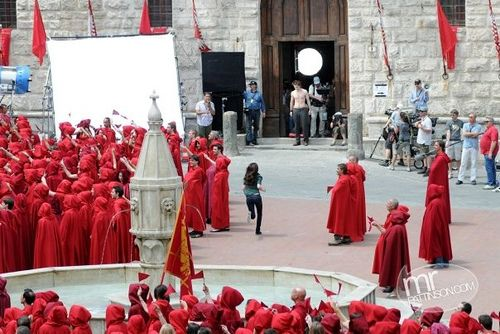 Filming New Moon Montepulciano Twilight Saga New Moon Twilight Photos Twilight New Moon