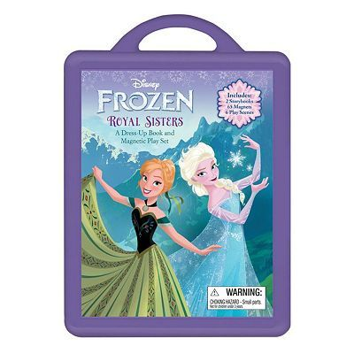 "Disney Frozen ""Royal Sisters"" Dress-Up Book & Magnetic Play Set"