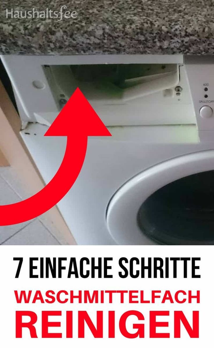 Waschmittelfach Reinigen Was Ist Zu Beachten Reinigen