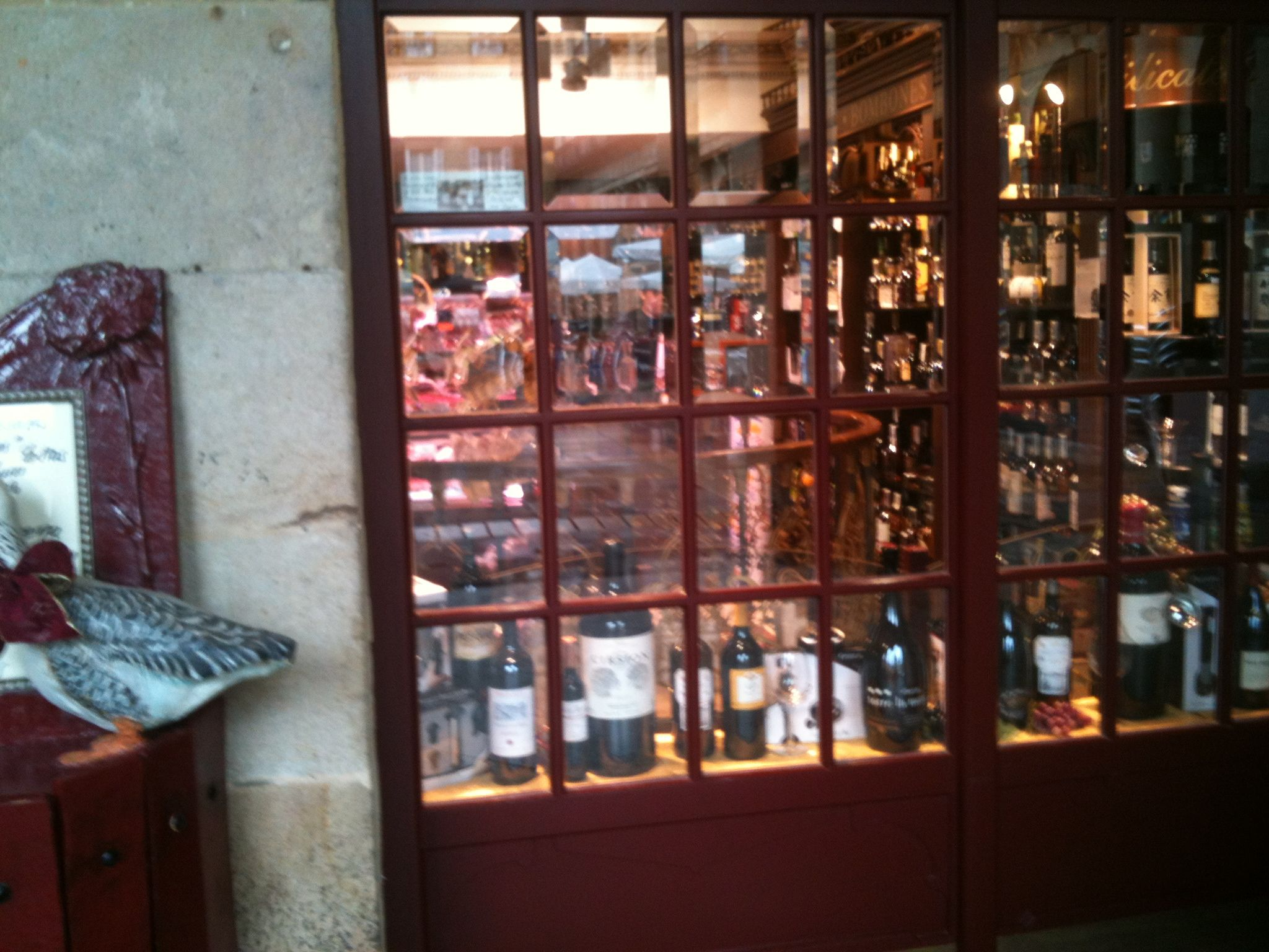 Typical delicatessen shop of traditional products, Bilbao Region, Basque Country.