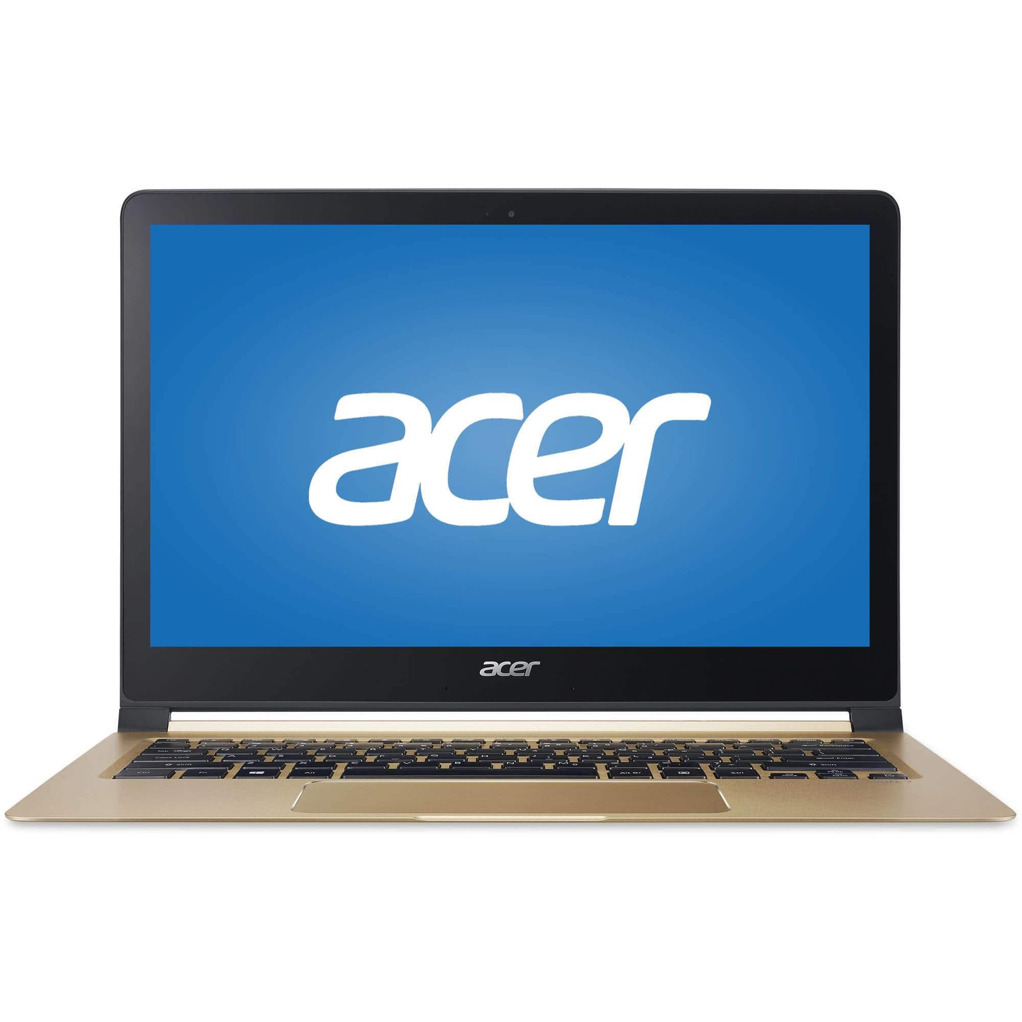 "Manufacturer Refurbished Acer 13 3"" Intel Core i5 1 2 GHz 8GB Ram 256GB SSD Windows 10"