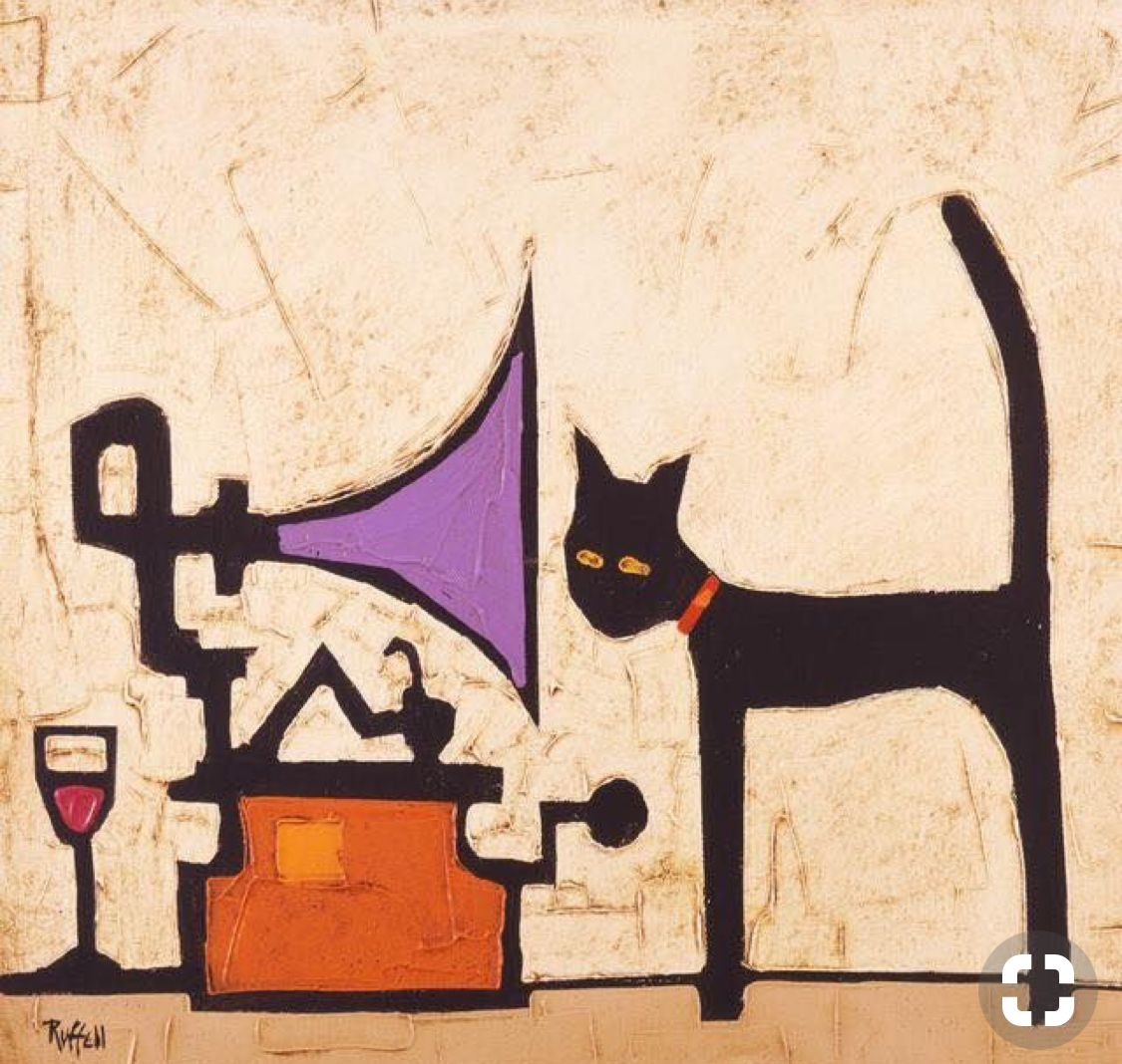 Pin by SGE on rock painting ideas 2 Jazz cat, Cat art, Cats