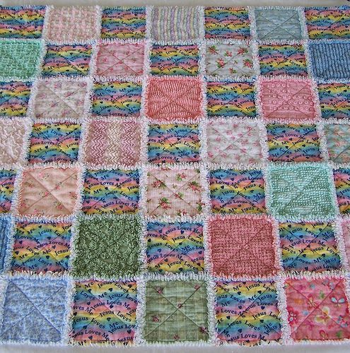 Flannel Rag Quilt Instructions Quilt The Squares Together Free