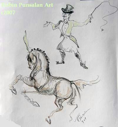 Circus Sketch- Robin Punsalan Art