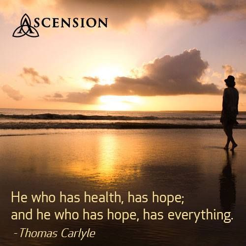 If You Have Hope You Have Everything Sundayreflection Weareascension Hope Ascension Health Ascension Reflection