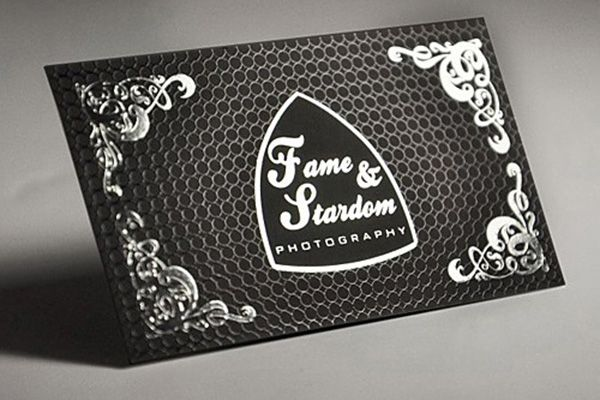 Luxury spot uv black photography business card sample created for luxury spot uv black photography business card sample created for fame ftardom photography reheart