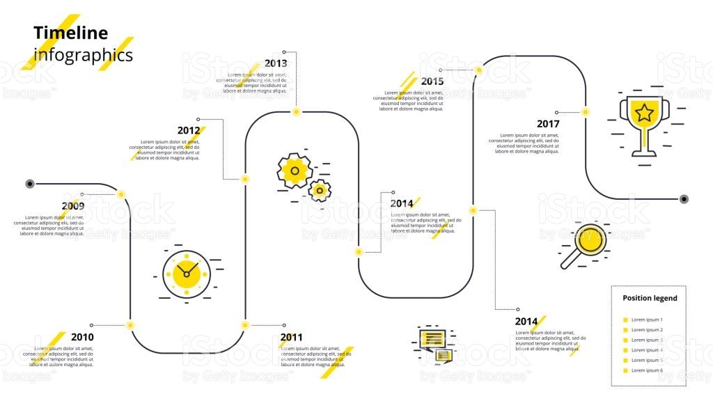Business timeline workflow infographics. Corporate ...