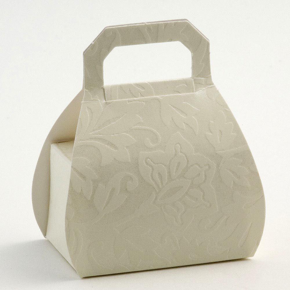 Handbag wedding favours - H80mm | Diamante Favor Boxes Special ...