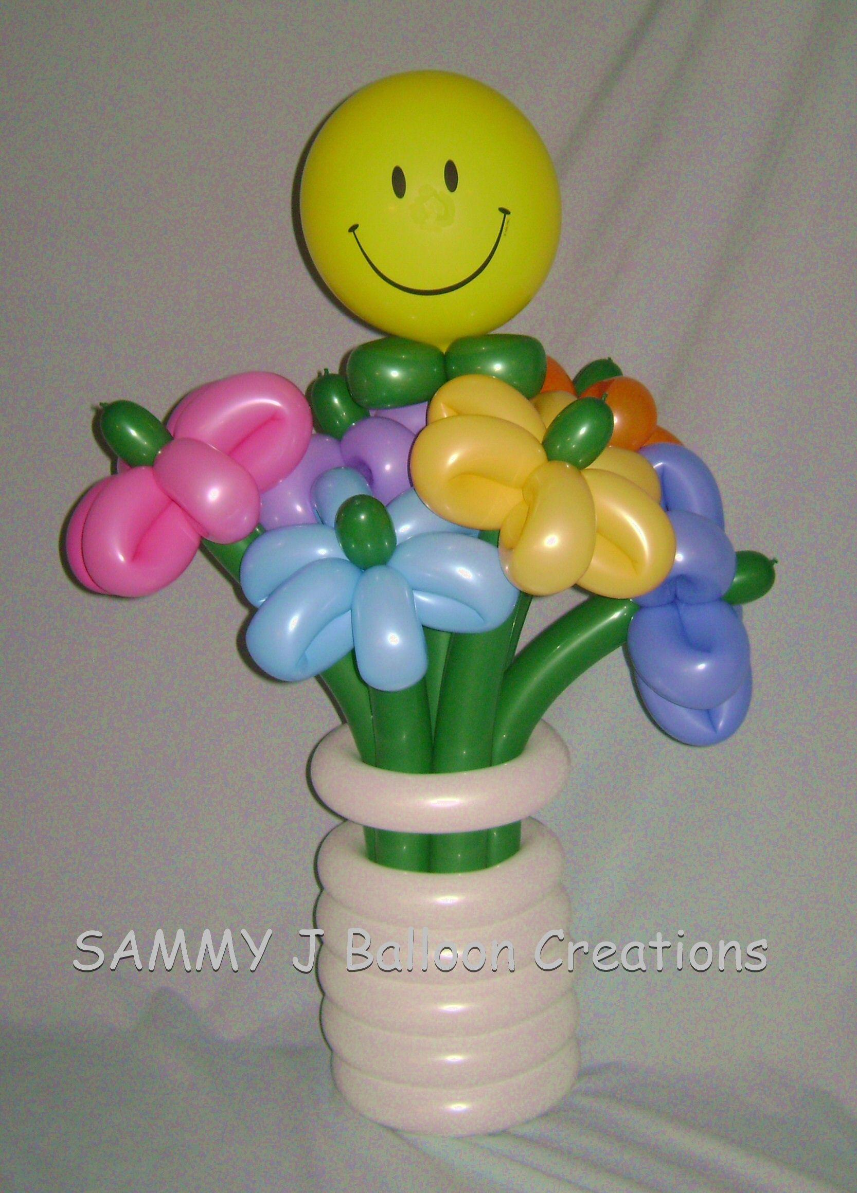 Smiley face balloon bouquet sammyjballoons balloons smiley face balloon bouquet sammyjballoons izmirmasajfo