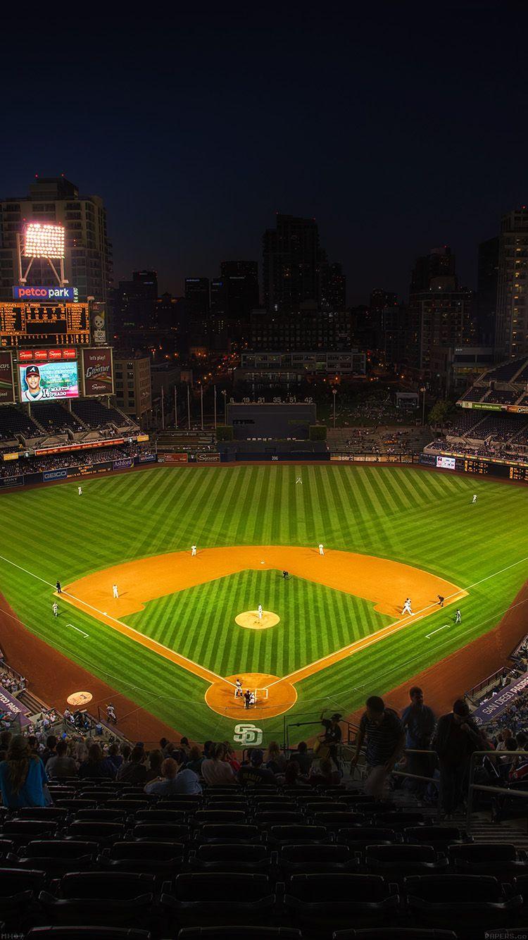PETCO PARK MLB STADIUM SPORTS LIFE WALLPAPER HD IPHONE