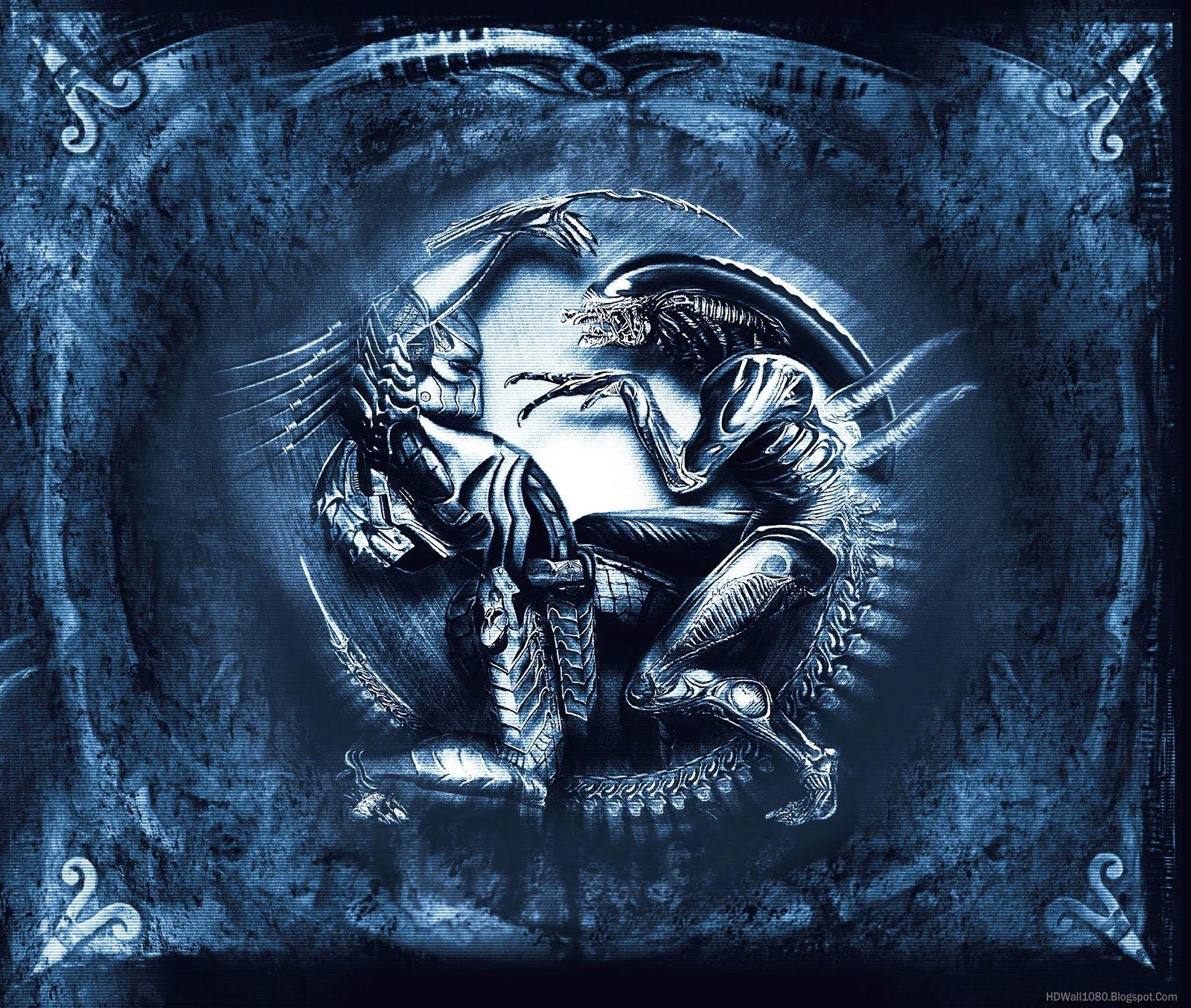 Hd New Wallpapers Alien Vs Predator Wallpaper Alien Vs Predator