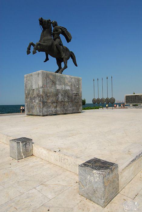 Μνημείο Μεγάλου Αλεξάνδρου, Θεσσαλονίκη. / Thessaloniki, Monument of Alexander The Great