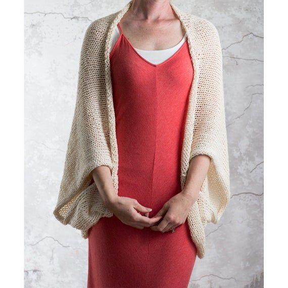 Summer Shrug Knitting Pattern : INTROSPECTION   Shrug ...
