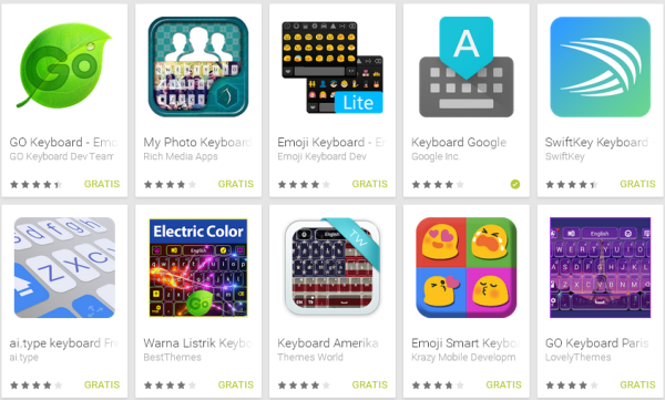 5 Aplikasi Keyboard Android Terbaik Paling Populer 2017