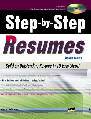 Step By Step Resume Stepbystep Resumes  Build An Outstanding Resume In 10 Easy Steps .