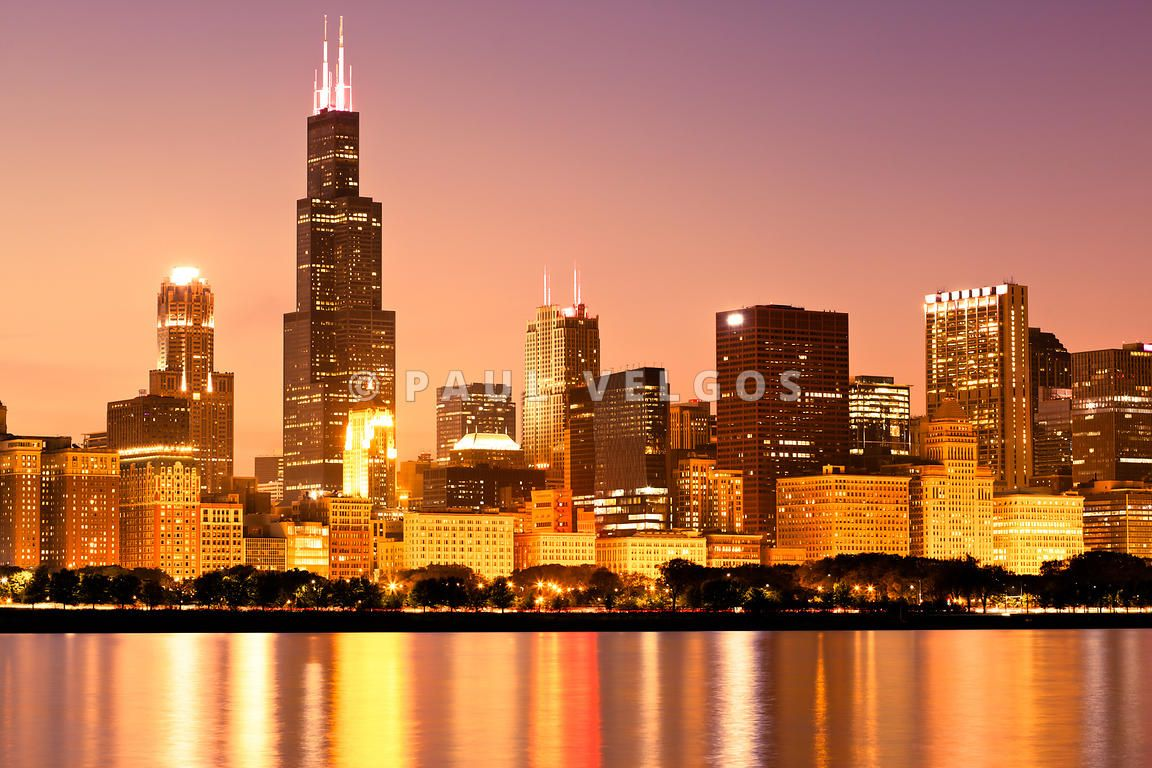 chicago skyline Google Search Photography wall art