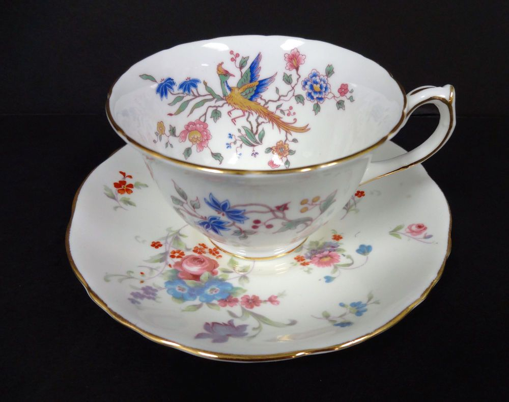 Hammersley Bird of Paradise China Tea Cup and Saucer
