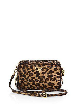 8f39217f79c6 Prada Cavallino Calf Hair Mini Crossbody Bag | BAGS | Mini crossbody ...
