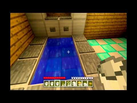 Minecraft Xbox 360 How To Build A Bathroom With Working Shower