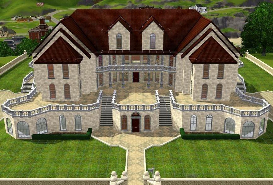 Best House Plans Design Ideas For Home Gorgeous House Ideas For Sims 3 Sims 3 House Layout Lovely Sims Sims 3 Houses Plans Sims 3 Houses Ideas Sims 3 Mansion