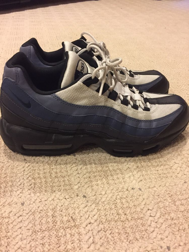 innovative design f7c6a c70e2 Nike Air Max 95 Essential Sneakers Men s Lifestyle Shoes Navy Blue  fashion   clothing  shoes  accessories  mensshoes  athleticshoes (ebay link)