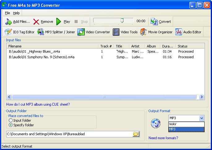 Free M4a to MP3 Converter Offline Installer Download