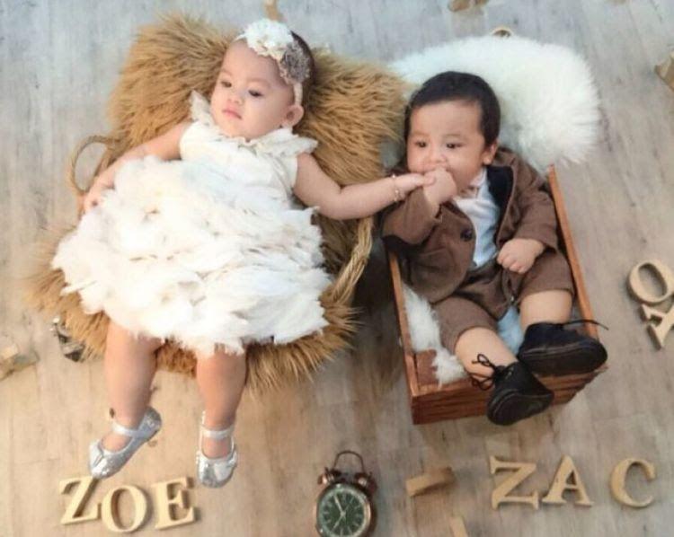 Paling Keren 13 Gambar Lucu Bayi Kembar Perempuan Tingkah Lucu Anak Kembar Imut Jonathan Frizzy Bikin Gemes Deh Ini Deretan Fot Gambar Gambar Lucu Foto Bayi