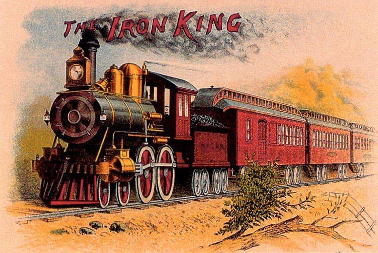 Ретро открытки железная дорога