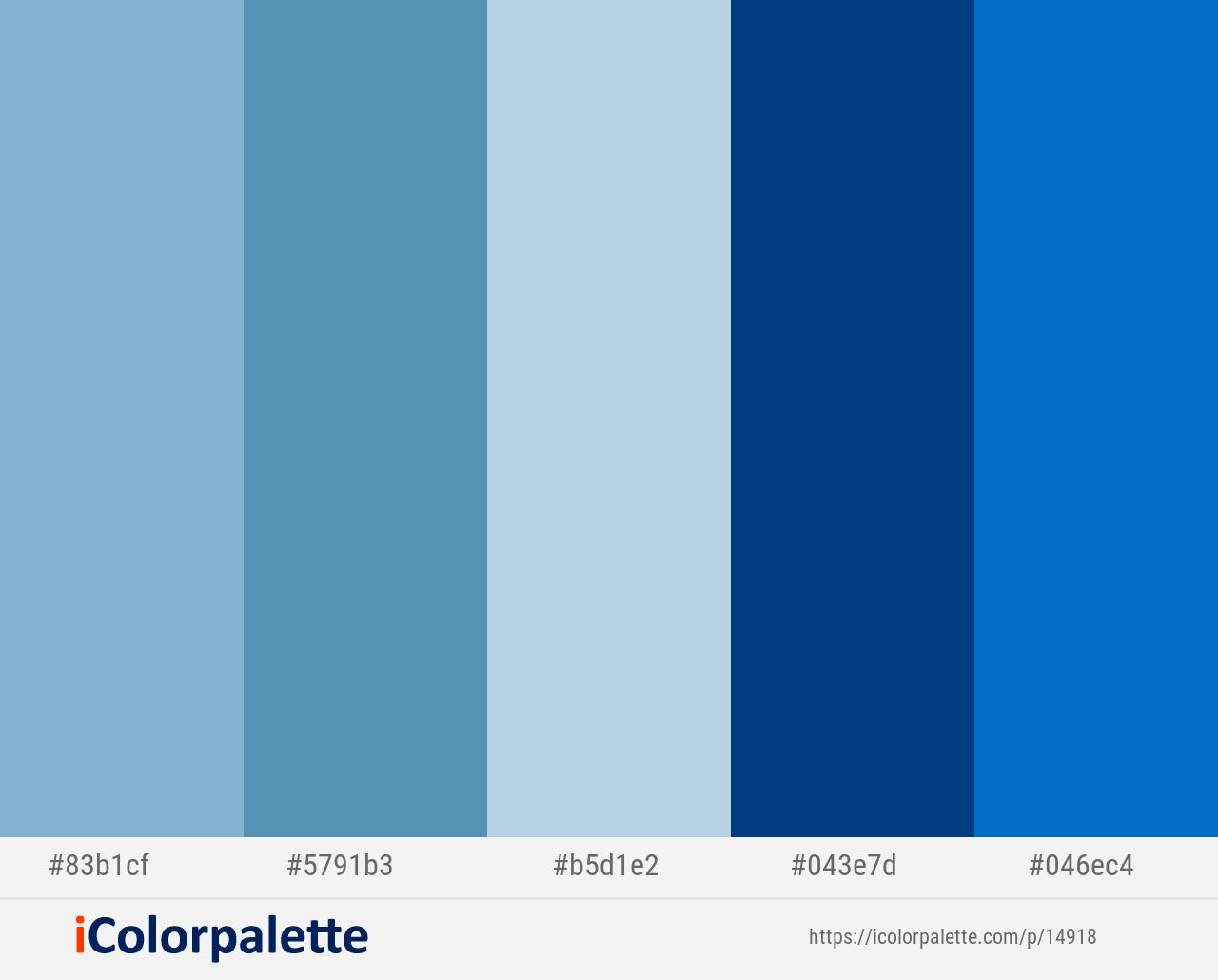 Half Baked Hippie Blue Ziggurat Congress Blue Science Blue Color Scheme Icolorpalette Blue Colour Palette Color Pallets Light Steel Blue