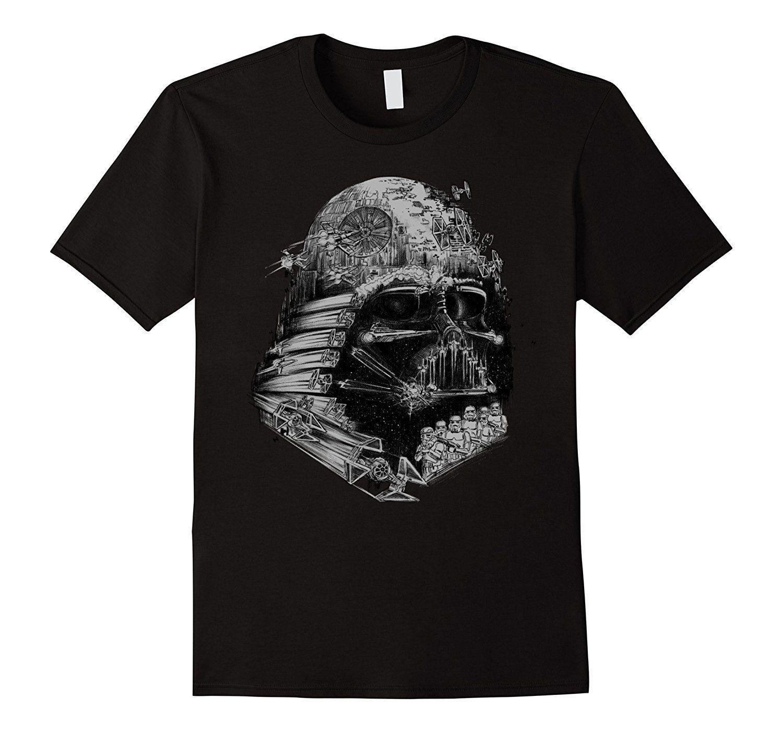 Amazon Com Star Wars Darth Vader Build The Empire Graphic T Shirt Clothing Star Wars Darth Vader Graphic Tshirt Mens Tshirts [ 1403 x 1500 Pixel ]
