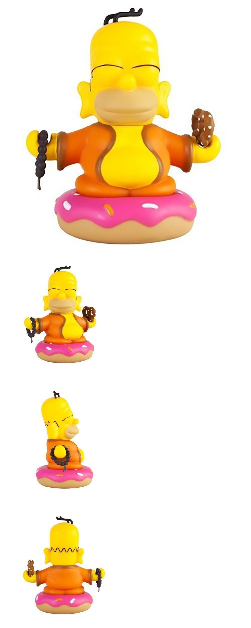 "The Simpsons Homer Buddha Color Version 3/"" Vinyl Figure by Kidrobot Matt Groenig"
